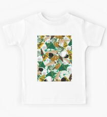 Seashells In Jungle Pattern Kids Clothes