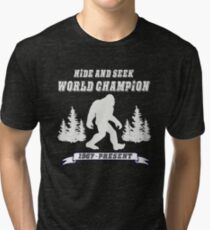 Hide and Seek World Champion Dark Tee Tri-blend T-Shirt