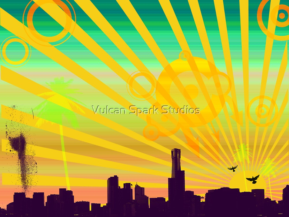 Cityscapes by Vulcan Spark Studios