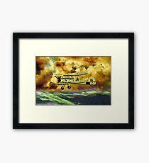 British Swordfish Biplane WWII  Framed Print