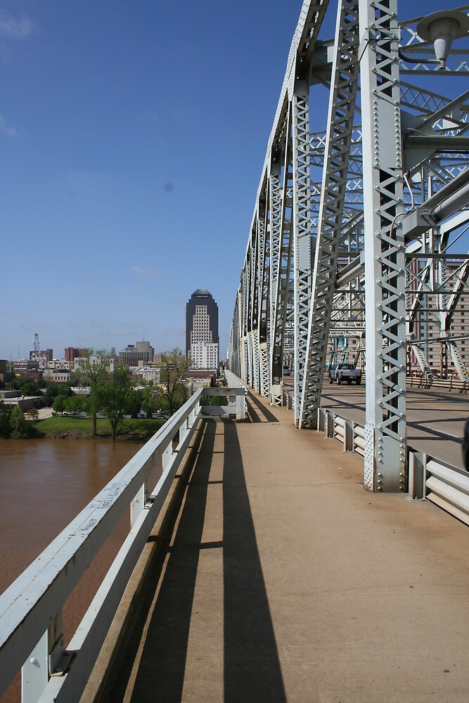 On the Texas Bridge by Terry Walker