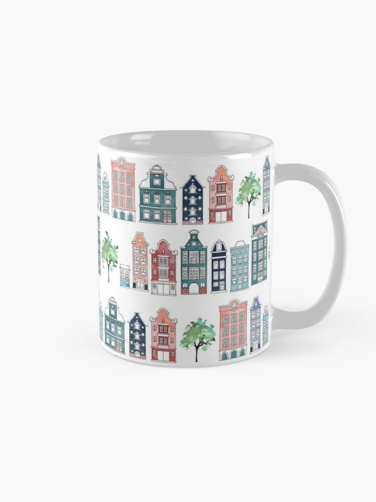 Alternate view of Amsterdam neighbourhoods Mug