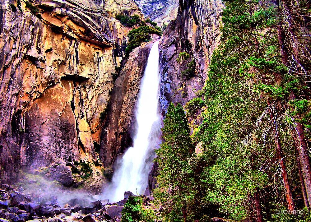 "Yosemite ""Waterfalls"" by SueAnne"