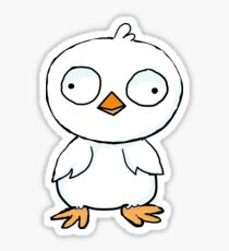 goofy chicken  Sticker
