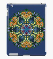 Mandala Paisley - Blue and Gold lotus iPad Case/Skin