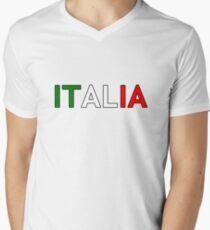 Italia V-Neck T-Shirt