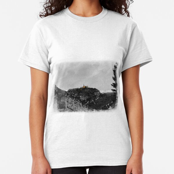 Castellane, France on the Route Napoleon Classic T-Shirt