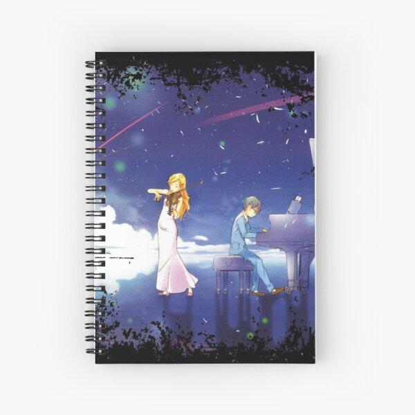 Shigatsu wa Kimi no Uso  Spiral Notebook