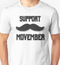Support Movember T-Shirt
