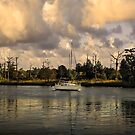 Sailboat in Georgetown by TJ Baccari Photography
