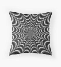 Leaden Web Throw Pillow