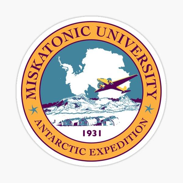 Miskatonic University Antarctic Expedition of 1931 Sticker