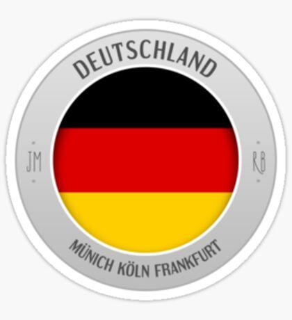 germany sticker Sticker
