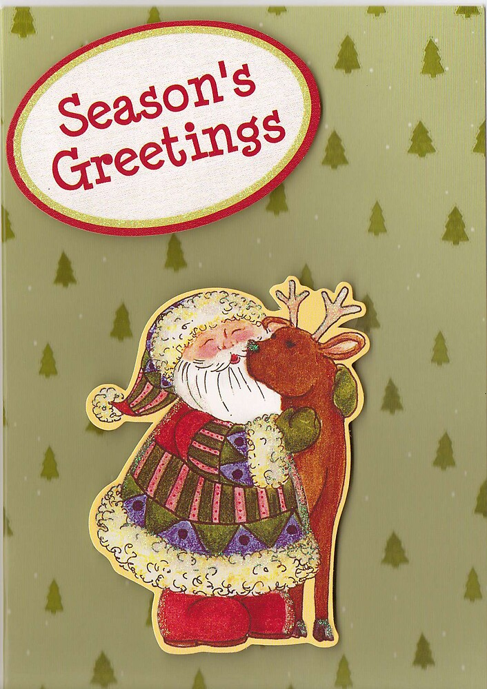 Christmas Card 3 by Alan Findlater