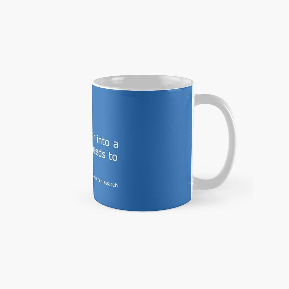 Blue Screen of Death - Coffee error Mugs