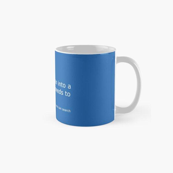 Blue Screen of Death - Coffee error Classic Mug