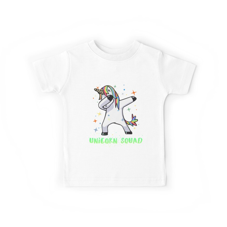 Dabbing Unicorn Squad Shirt! Myth, Dab, Dance, Magic & Fantasy  by AllGoodStuff