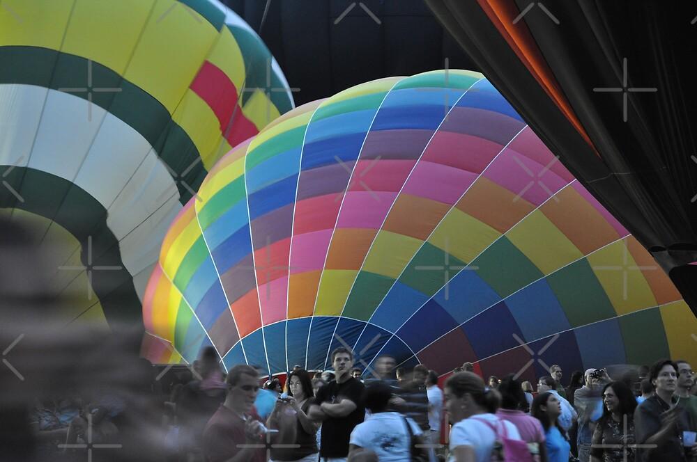 Balloon Race by lightman07