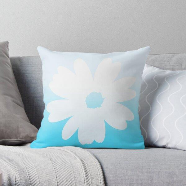 Fleur bleue Coussin