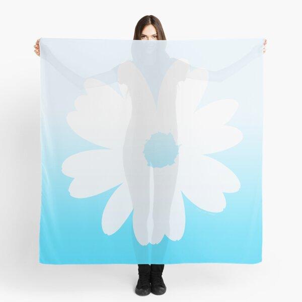 Fleur bleue Foulard