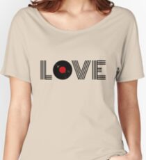 Vinyl record love Women's Relaxed Fit T-Shirt