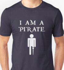 dd1f4db31 I Am a Pirate T-Shirt for Amputees Unisex T-Shirt