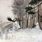 Forest Spirit - Moose by Lisbeth Thygesen