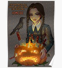 Wednesday Addams - Homicide Poster