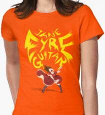 Jane Eyre Guitar Women's Fitted T-Shirt
