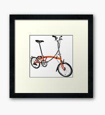 Orange Brompton Framed Print