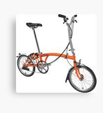 Orange Brompton Canvas Print