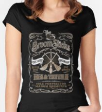The Three Broomsticks Inn and Tavern Women's Fitted Scoop T-Shirt