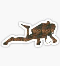 Rust Diving Sticker Sticker
