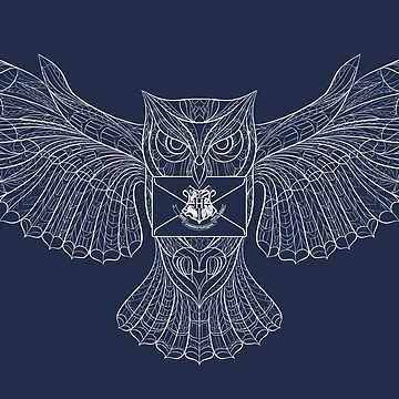 Hedwig Invitation by redbaronict