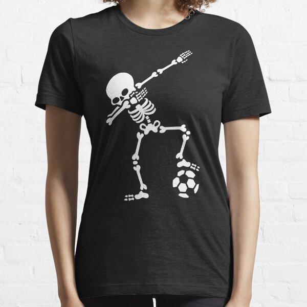 Dab dabbing skeleton football (soccer) Essential T-Shirt
