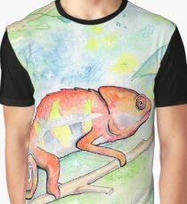 Cutie Chameleon Graphic T-Shirt