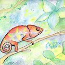 Cutie Chameleon by Vena Carr