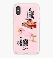 OH HONEY THANKSGIVING? THANKSLIVING! Trixie Katya iPhone Case