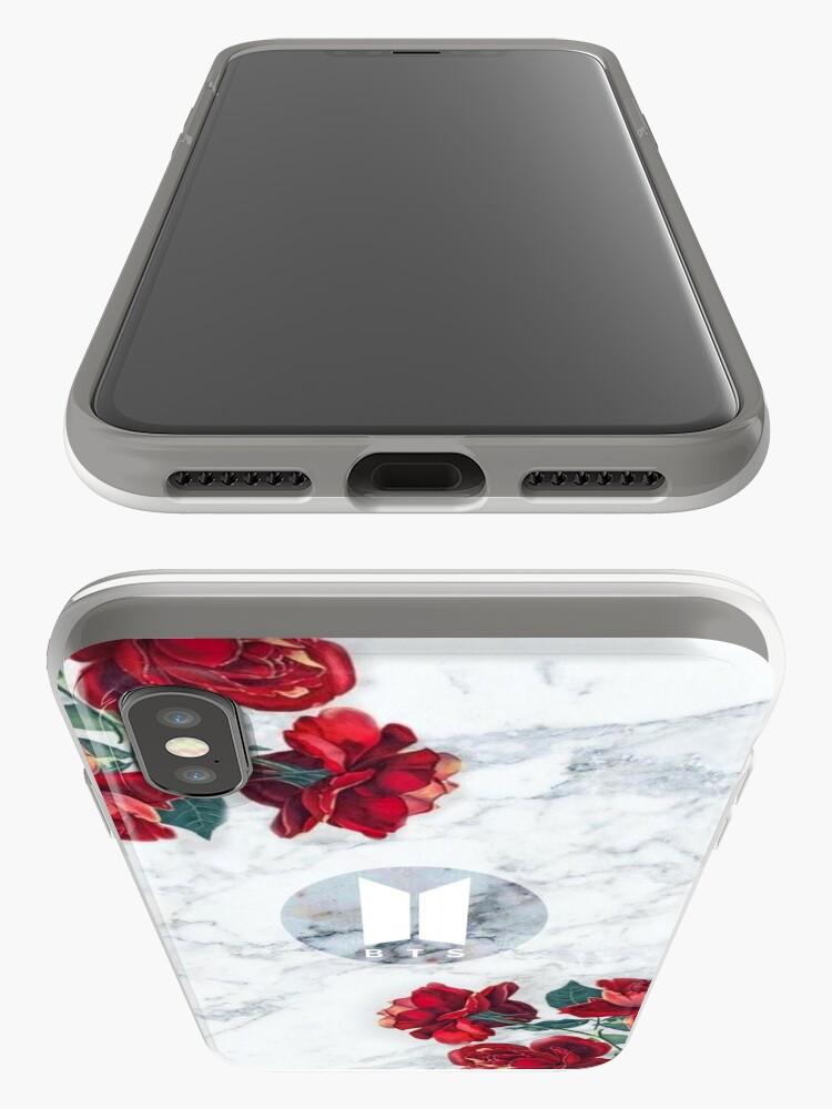 Alternative Ansicht von BTS Army Logo Marmor v4 iPhone-Hüllen & Cover