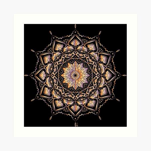Etnic mandala Art Print