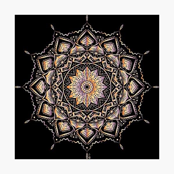 Etnic mandala Photographic Print