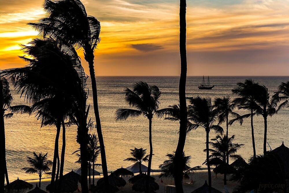Aruba Sunset 2 by John Velocci