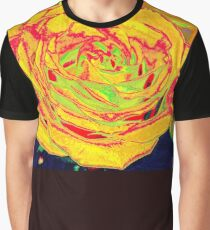 Yellow rose graphic Graphic T-Shirt
