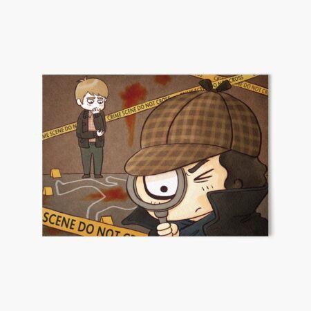 Sassy Detective Costume Dress Cape Hat Plaid Sherlock Holmes Investigator 9159