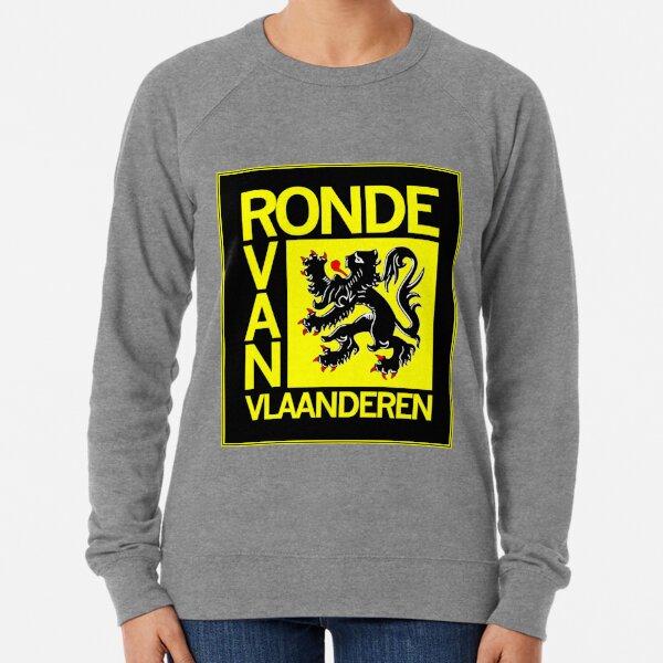 Ronde Van Vlaanderen : Vintage Cycle Racing Advertising Print Lightweight Sweatshirt