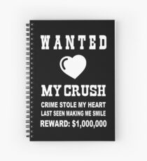 Girl Crush Quotes Spiral Notebooks | Redbubble