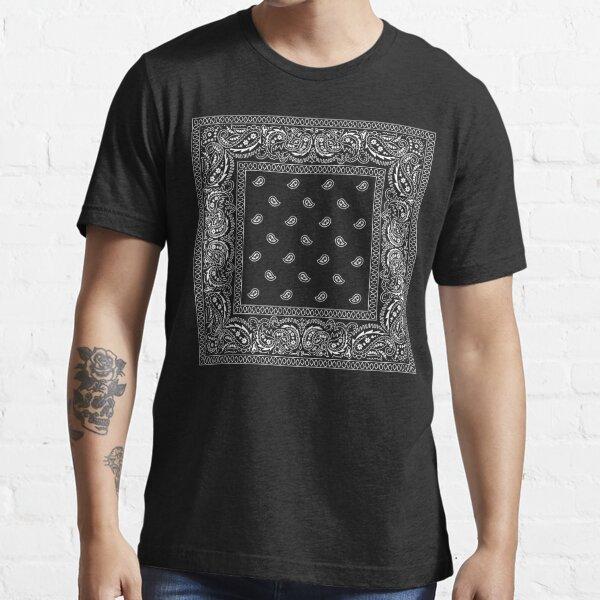 Bandanna Black Essential T-Shirt