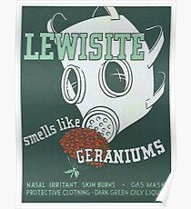 Vintage poster - Lewisite Poster