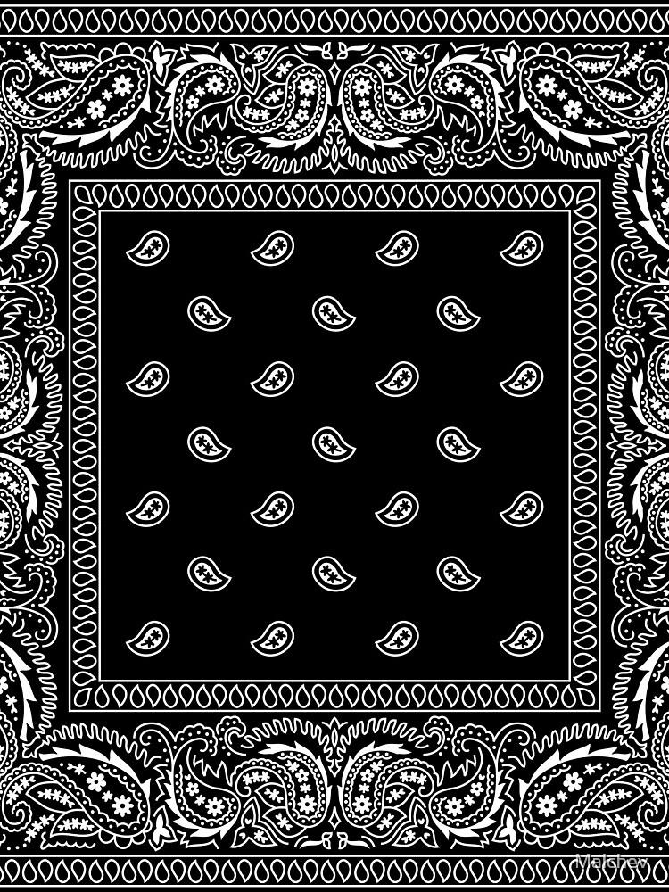 Bandanna Black by Malchev