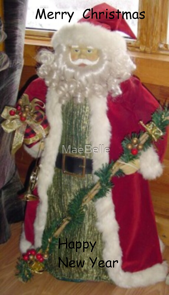 Father Christmas Card by MaeBelle